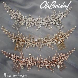 Bridal Back Headpiece